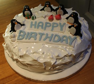 Penguin Cake | by Icing Bliss
