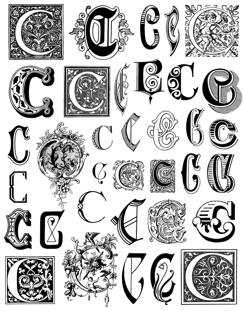 Alphabet 4 This Image Is Free To Use In Your Creative