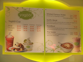 Yagoot Menu | by swampkitty