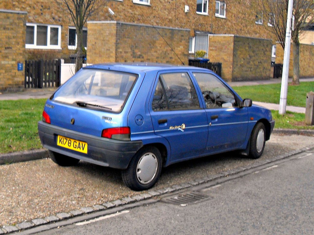 1993 Peugeot 106 1 4 Xrd Key Largo Many Of These Cars