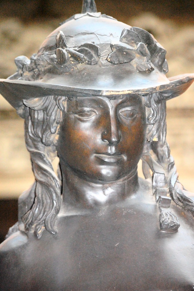 Donatello's David - plaster replica, V&A, head and shoulde ...