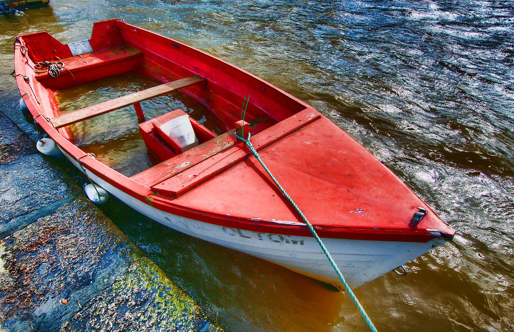 Image result for red leaky boat