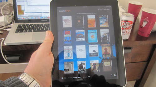 Kindle library | by scriptingnews