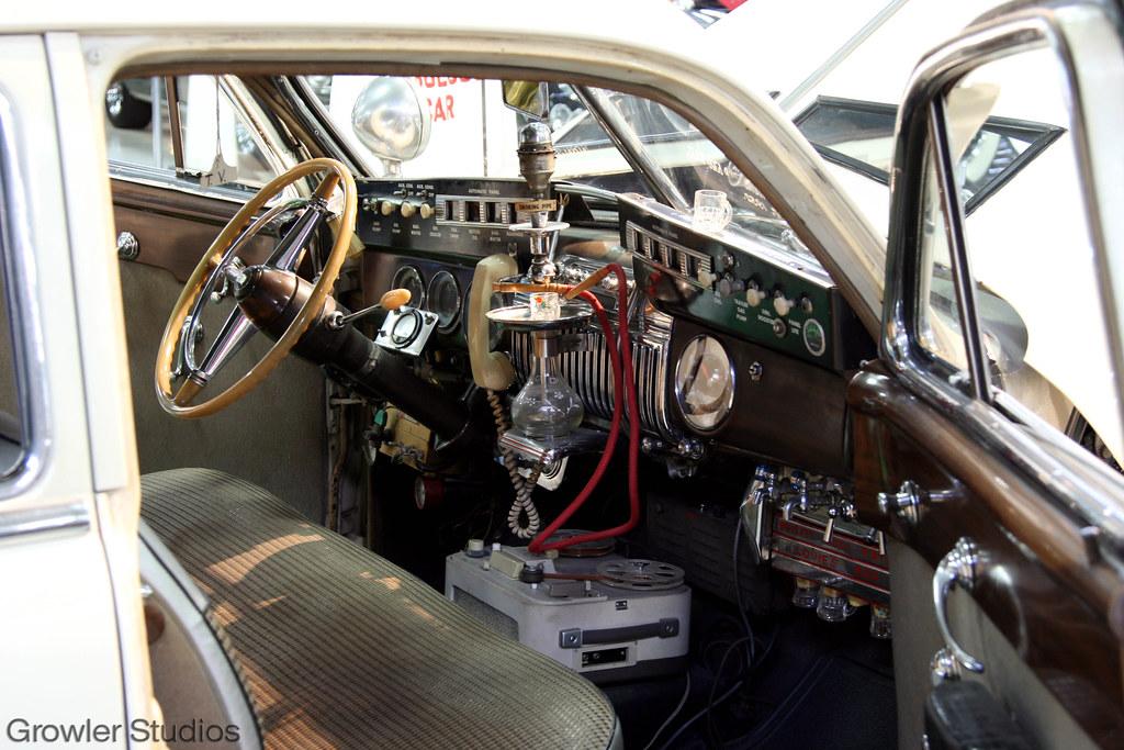 San Diego Automotive Museum: Louis Mattar's 1947 Cadillac
