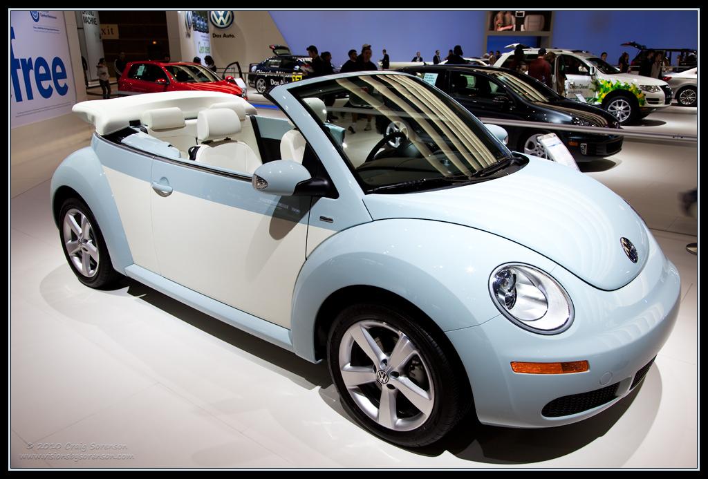 Slug Bug Aquarius Blue No Slug Backs 2010 Volkswagen