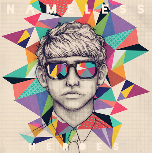 How To Design Album Art : Nameless heroes cd cover something i did for my thesis