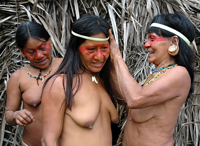South American Tribal Girls Amazon-tribe-girl
