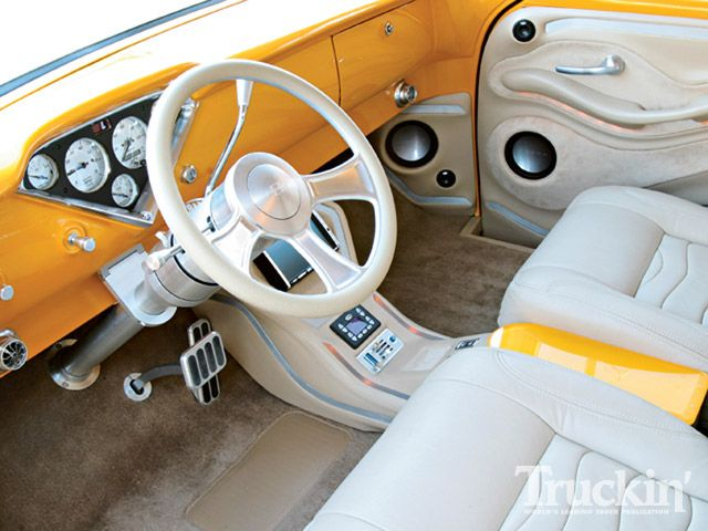 56 Chevy Truck Interior Bam1955 Flickr
