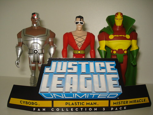 Justice League Unlimited Plastic Man and Cyborg 3-pack | by Fabricio ... Justice League Unlimited Cyborg
