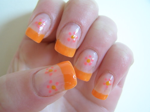 Nail Art Flower Designs Youtube