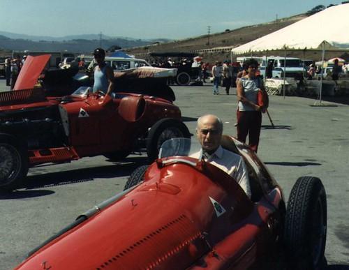 Laguna Seca Raceway >> Juan Manuel Fangio, 1951 Alfa Romeo Alfetta | I found it ...