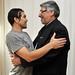 Fernando Lugo en un emotivo encuentro con Salvador Cabañas