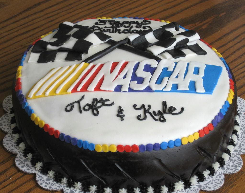 Checkered Flag Birthday Cakes