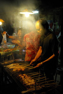 Street Cook - Southern Laos | by The Hungry Cyclist
