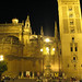 Sevilla Catedral at night