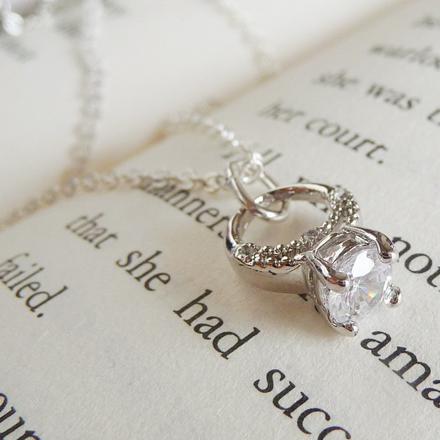 promise ring necklace flickr photo