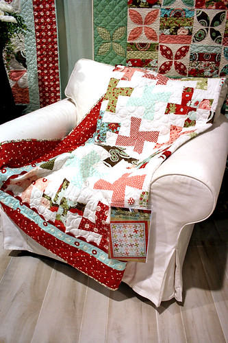 thimbleblossoms-quiltchair | by trueup