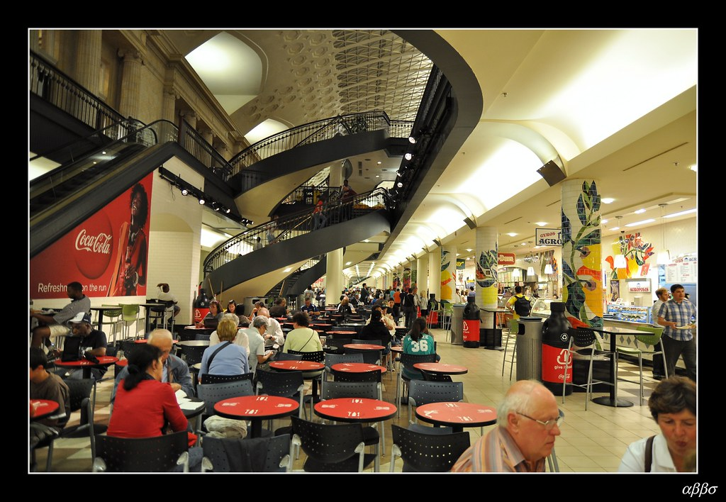 Penn Station Food Court Map