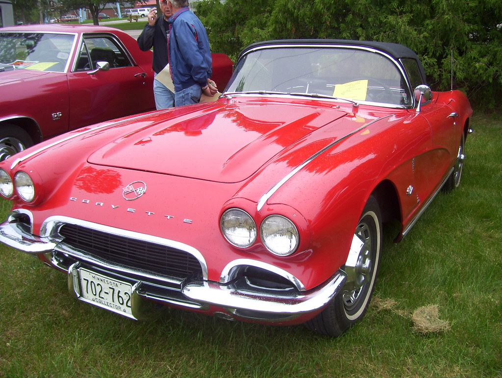 1962 Red Chevy Corvette Year Make Model 1962 Chevy