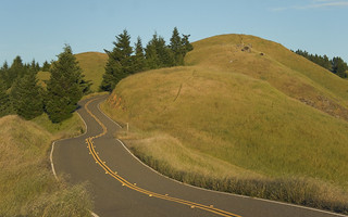 Uncountable car commercials have been filmed on Bolinas Ridge Rd. | by Jim Collier