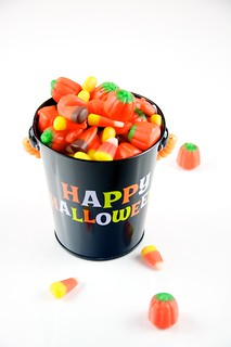 Automn Mix Candy in Happy Halloween Pail | by TheCulinaryGeek