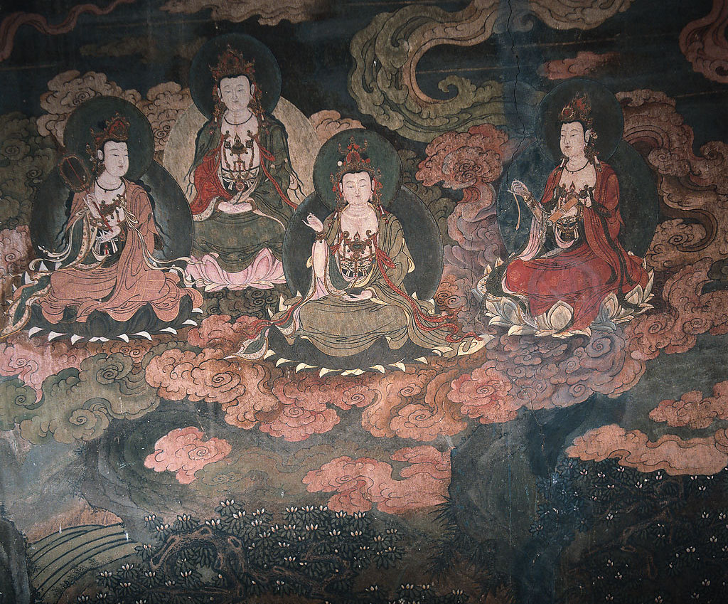 mogao caves - mural | Disclaimer: This photo is NOT taken ...
