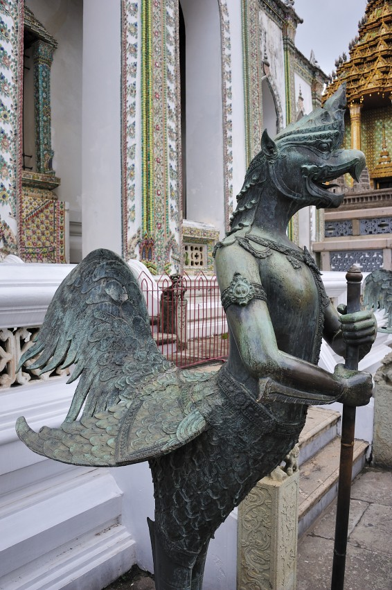 A Kinnon (mythological creature, half bird, half man) insi ... - photo#18
