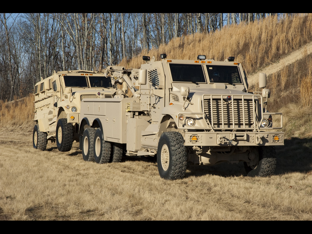 MaxxPro Wrecker from Navistar Defense | From the Navistar De