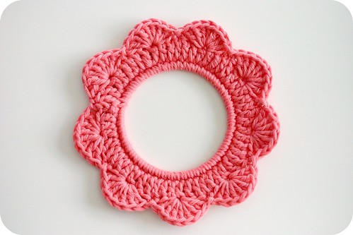 Crochet Frame Colour Pink | by Stripey Mooka