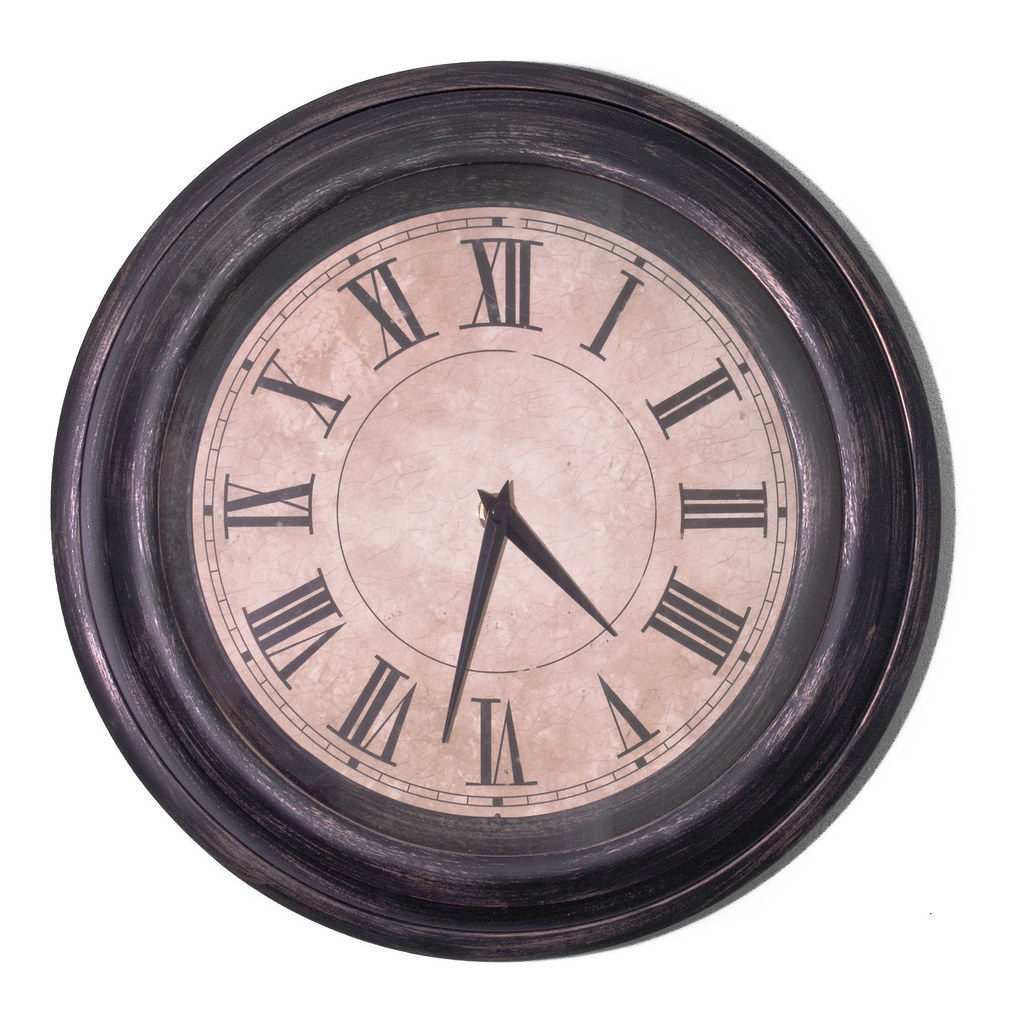 Wall Clock Kitchen Utensils