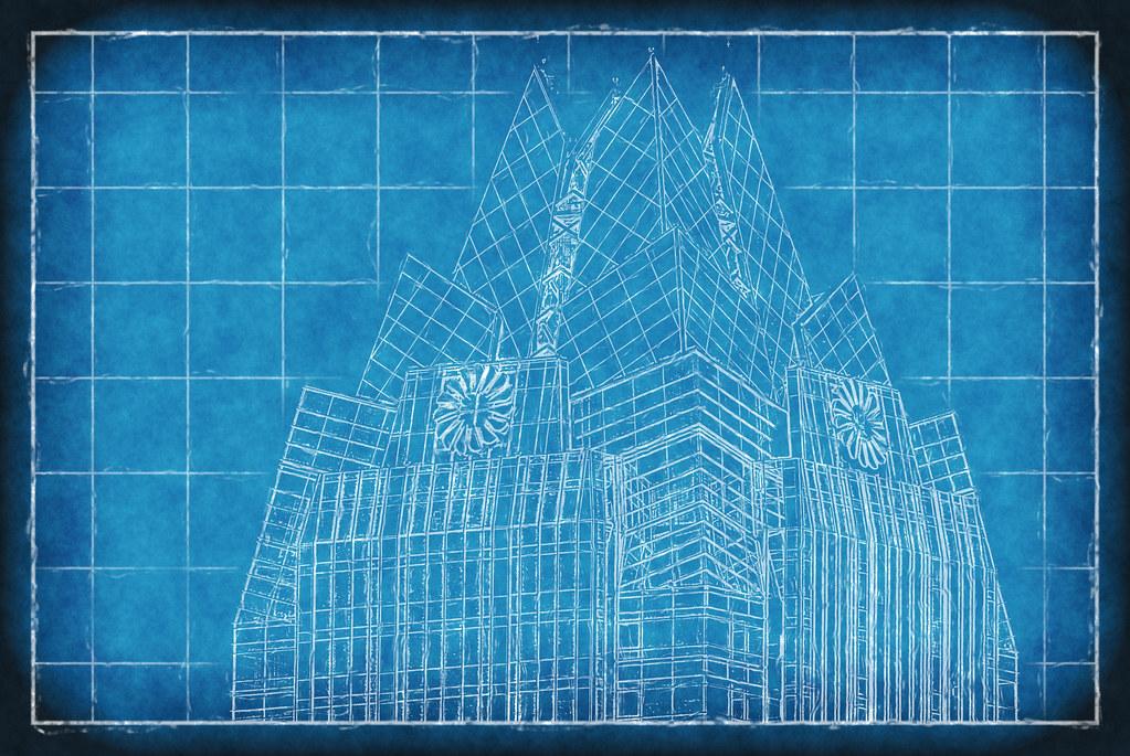 Frost Bank Austin Texas Blueprint Architecture Photographe