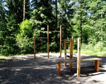Kuva toimipisteestä: Pyhänristinpuisto / Ulkokuntoiluvälineet