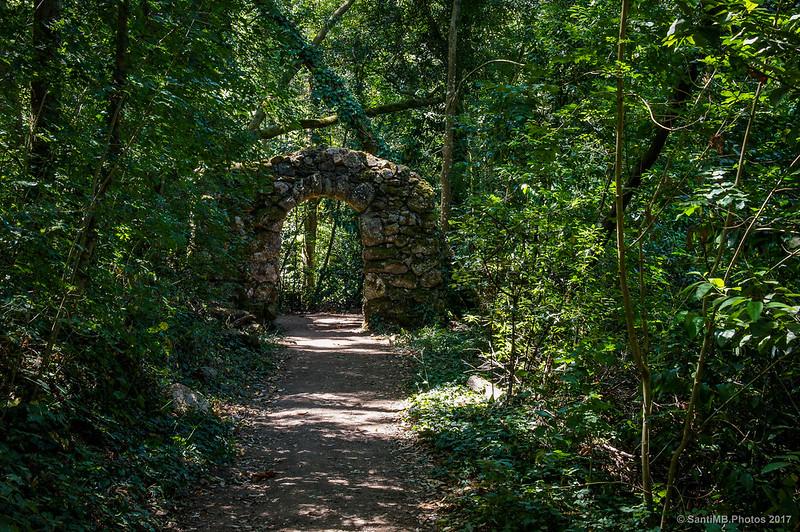 Porta de Siloé en Buçaco