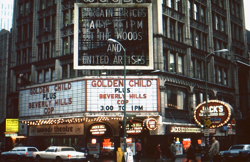 Chicago, ILL Woods Theatre 12-29-86 (2) | by hoteldennis
