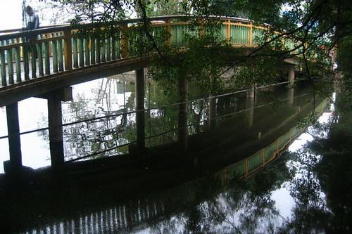 pont chinois passerelle courbe en bois dans un parc de han flickr. Black Bedroom Furniture Sets. Home Design Ideas