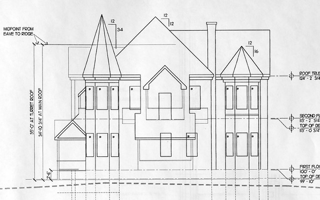 Old Victorian House Drawing Victorian House Drawing