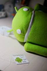 android plush bag