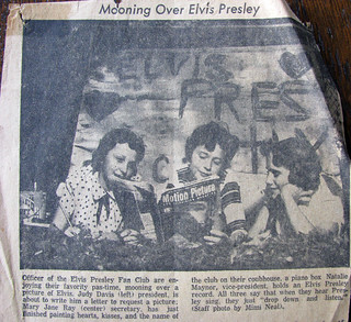Elvis Presley Fan Club: 1956 | by NatalieMaynor