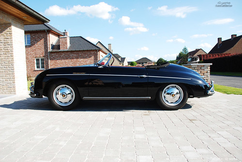 Porsche 365 Speedster Summertime Www Iliasdebie Be Flickr
