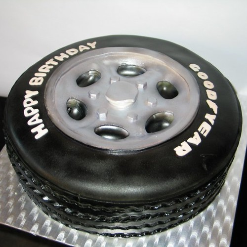 Good Year Tire Cake Rick Flickr