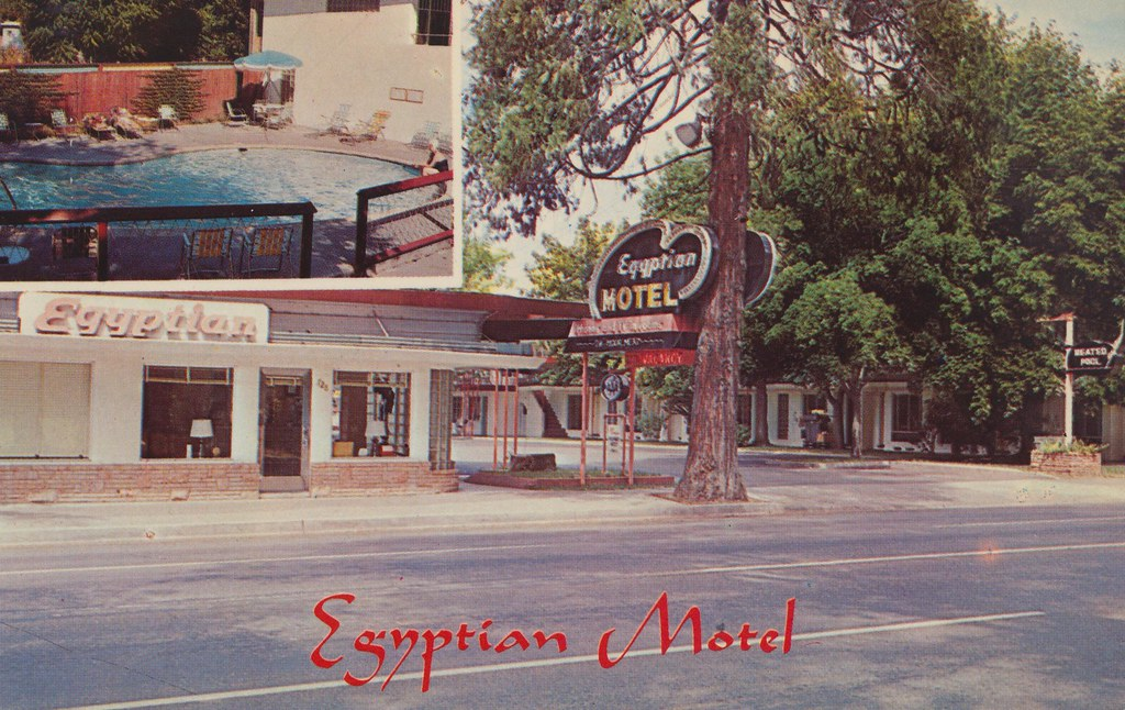 Egyptian Motel - Grants Pass, Oregon