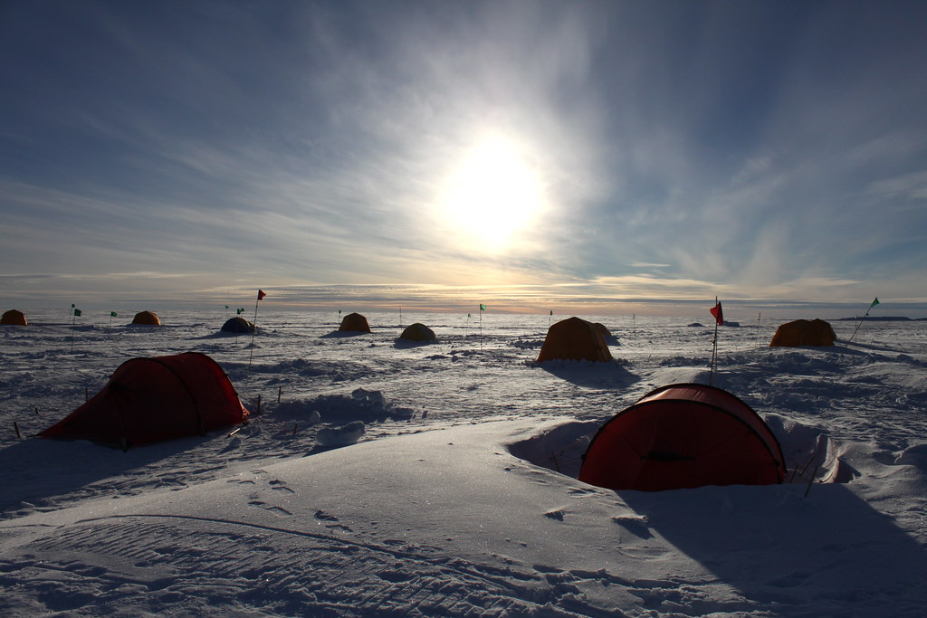 Antarctica: Byrd Field Camp