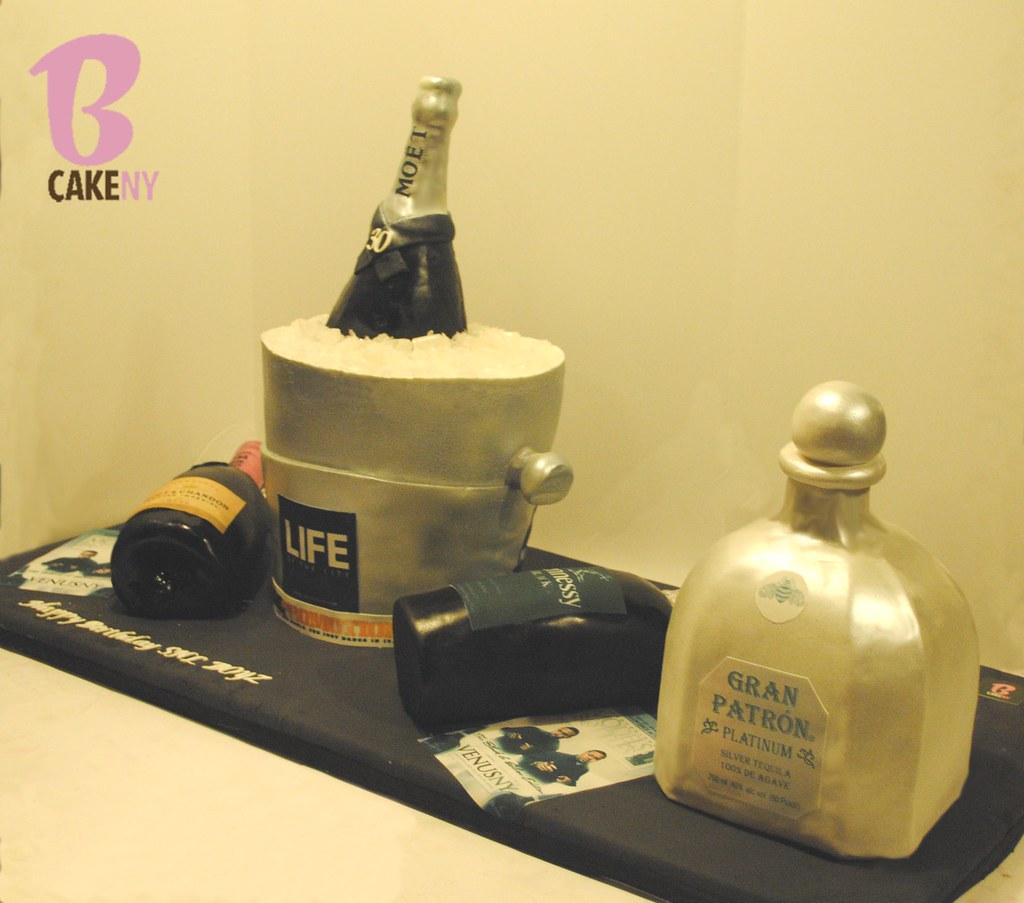 Patron Moet Hennessy Bottle Cake Bcakeny Flickr
