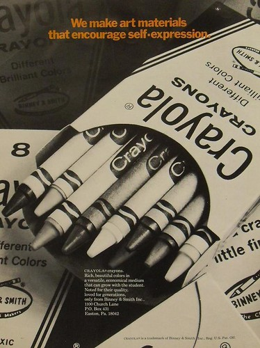 1970s Binney and Smith Crayola Crayons Vintage Advertisement | by Christian Montone