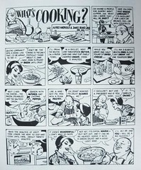 """What's Cooking"" 1966 comic 