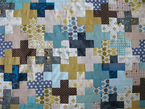 { winter cross quilt } | by { philistine made }