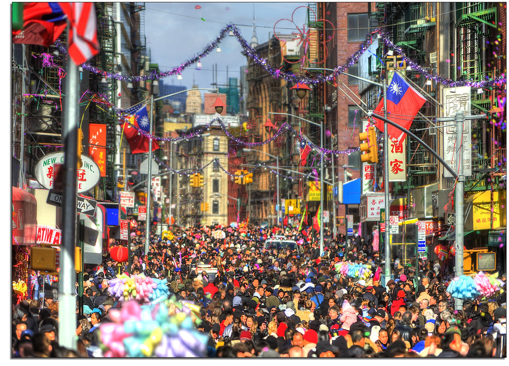 Chinese new year chinatown nyc organized mayhem in lower