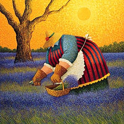 160 best images about Lowell Herrero Art on Pinterest ... |Sunflower Harvest Lowell Herrero