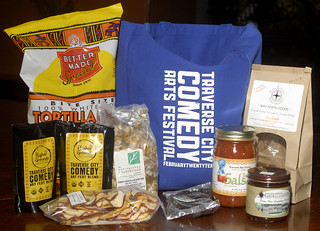 Traverse City Comedy Arts Festival Gift Bag | by tcfilmfest