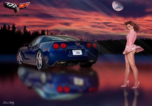Corvette Sting Ray >> 2009 C6 Corvette Coupe | Tom Hiltz | Flickr